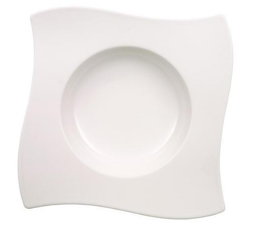 SUPPENTELLER 24/24 cm - Weiß, Design, Keramik (24/24cm) - Villeroy & Boch