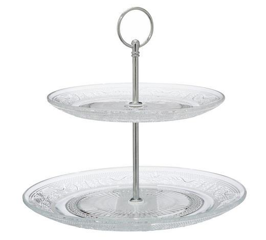 etažer 43959 - Basics, steklo (23/22/23cm)
