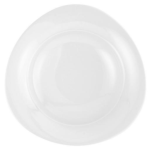 FRÜHSTÜCKSTELLER - Weiß, KONVENTIONELL, Keramik (23//cm) - Seltmann Weiden