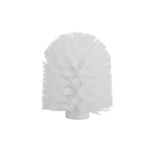 ERSATZBÜRSTENKOPF - Weiß, Kunststoff (9,5cm)