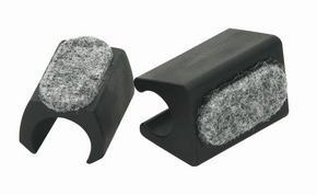 MÖBELTASSAR - grå/svart, Basics, textil/plast (1,6cm)