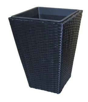 KRUKA - svart, Basics, metall/plast (28/28/40cm) - Ambia Garden