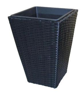 PLANTERINGSKRUKA - svart, Basics, metall/plast (28/28/40cm) - Ambia Garden