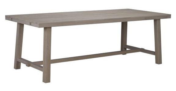 MATBORD - naturfärgad, Klassisk, trä (220/95/76cm) - Rowico