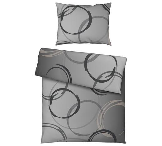 BETTWÄSCHE 140/200 cm - Grau, KONVENTIONELL, Textil (140/200cm) - Novel