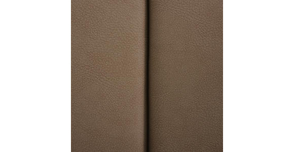 SCHWINGSTUHL in Metall, Textil Edelstahlfarben, Taupe - Taupe/Edelstahlfarben, Design, Textil/Metall (43,5/95/62cm) - Xora