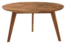 COUCHTISCH Wildeiche massiv rund  - Design, Holz (70/70/41cm) - Linea Natura