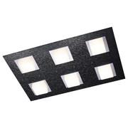 LED STROPNÍ SVÍTIDLO - antracitová, Design, kov (45/30/52cm) - Großmann