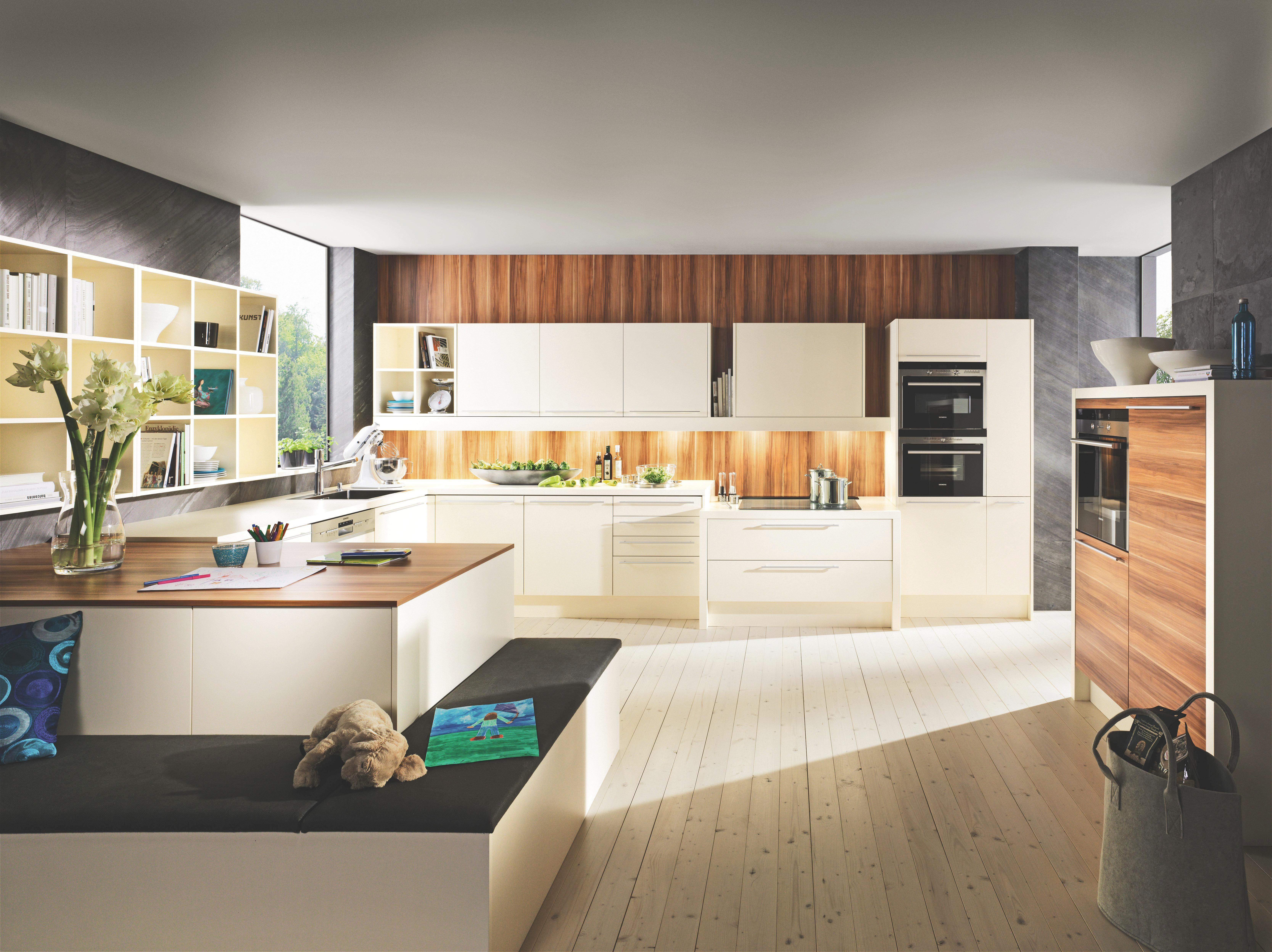 Einbauküche design holzwerkstoff dan küchen