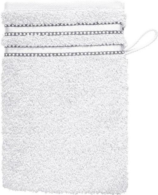 WASCHHANDSCHUH - Weiß, Basics, Textil (16/22cm) - VOSSEN
