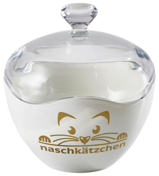 DOSE - Klar/Goldfarben, Basics, Glas (13cm) - Ritzenhoff Breker