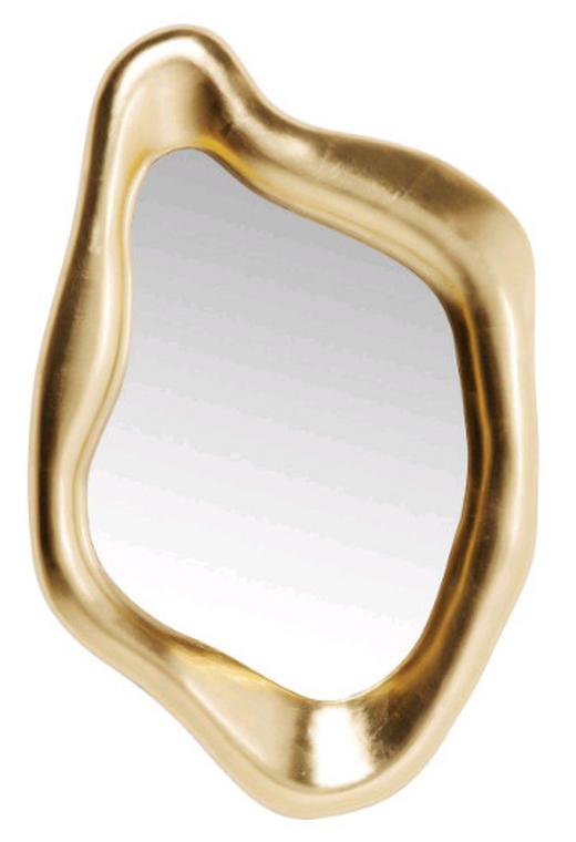 SPIEGEL Goldfarben - Goldfarben, Design, Glas/Kunststoff (75/119/9cm) - Kare-Design