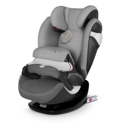 Kinderautositz Pallas M-Fix - Hellgrau/Grau, Basics, Kunststoff/Textil (43,0/56,0/71,5cm) - Cybex