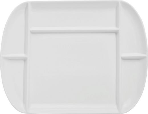 FONDUETELLER Keramik Porzellan - Weiß, Basics, Keramik (26/33cm) - Homeware Profession.