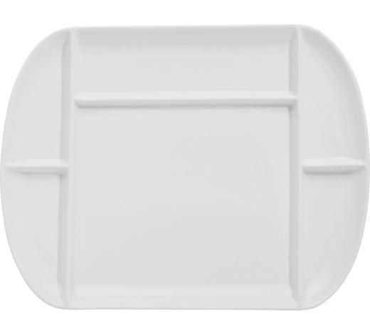 TALÍŘ NA FONDUE, porcelán - bílá, Basics, keramika (26/33cm) - Homeware Profession.