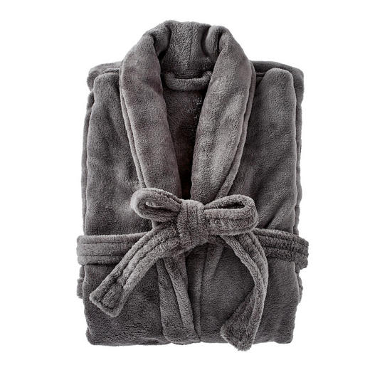 BADEMANTEL  Anthrazit - Anthrazit, Design, Textil (M) - Boxxx
