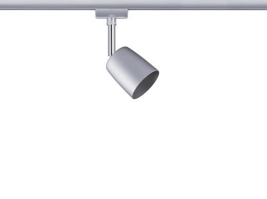 URAIL SCHIENENSYSTEM-STRAHLER - Chromfarben, Design, Metall (5,8/14,0/9cm) - Paulmann
