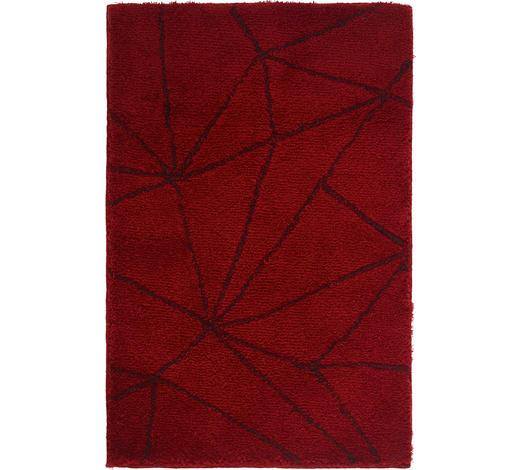 BADTEPPICH in Dunkelrot 60/90 cm - Dunkelrot, Design, Kunststoff/Textil (60/90cm) - Kleine Wolke