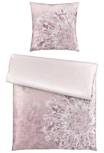 BETTWÄSCHE Satin Rosa 135/200 cm - Rosa, LIFESTYLE, Textil (135/200cm) - Novel