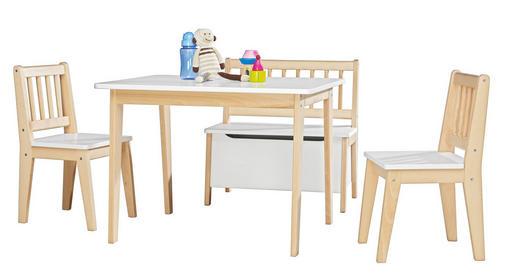KINDERSITZGRUPPE - Naturfarben/Weiß, Basics, Holz - MY BABY LOU