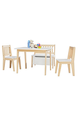 Kindersitzgruppe - Naturfarben/Weiß, Lifestyle, Holz - My Baby Lou