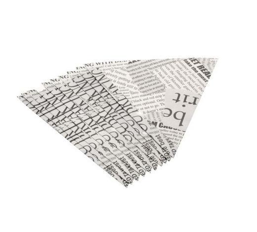 POMMESTÜTE - Schwarz/Weiß, Basics, Papier (19,5/19cm) - Homeware