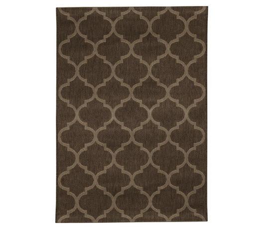 TEPIH NISKOG TKANJA - prirodne boje/smeđa, Konvencionalno, tekstil/prirodni materijali (133/195cm) - Boxxx