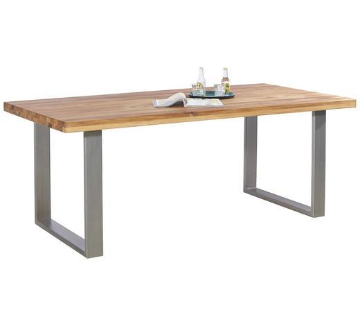 Esstisch Holz Metallfusse