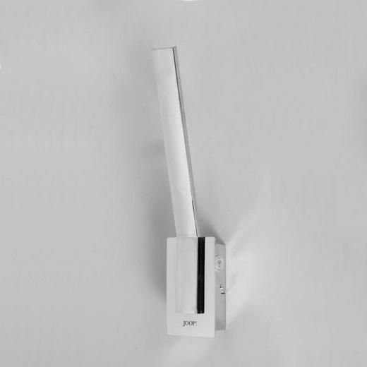 LED-WANDLEUCHTE - Chromfarben, Design, Kunststoff/Metall (12,60/42,60/9cm) - Joop!