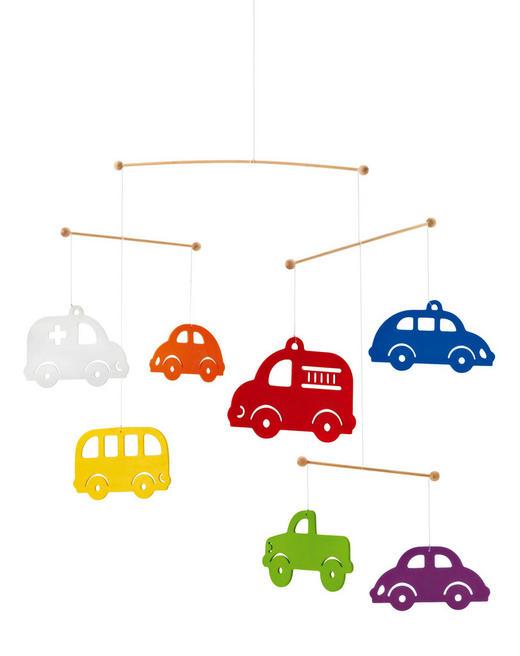MOBILE - Multicolor, Holz (29,5/19,8/4,8cm) - Selecta