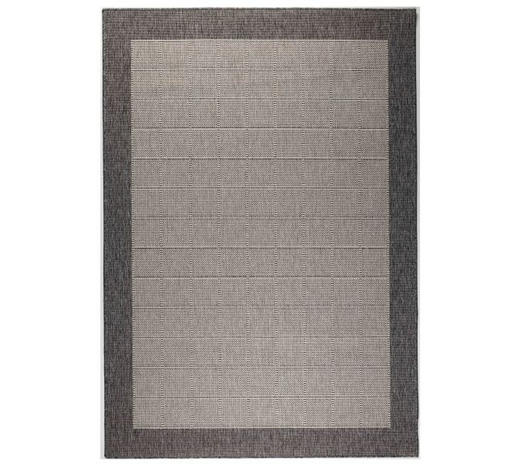 FLACHWEBETEPPICH  80/150 cm  Hellgrau, Dunkelgrau   - Dunkelgrau/Hellgrau, Basics, Textil (80/150cm) - Boxxx