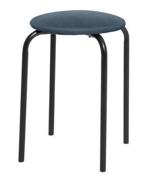 PALL - blå/svart, Klassisk, metall/textil (30/45cm)