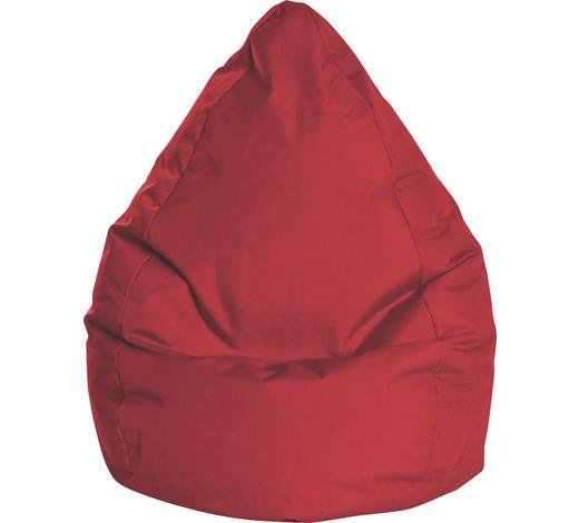 SITZSACK in Textil Rot - Rot, Design, Textil (80/130/80cm)