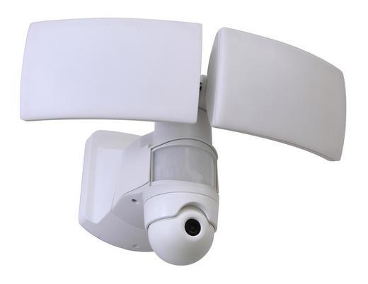 LED-AUßENLEUCHTE - Weiß, Basics, Kunststoff (30,9/20,2/22,7cm)
