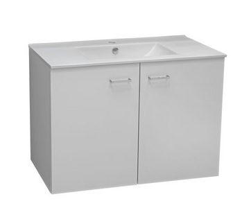 KUPATILO - Bela, Dizajnerski, Keramika/Pločasti materijal (60/83,5/45cm) - Xora