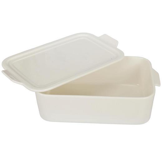 ZAPÉKACÍ MÍSA, porcelán - bílá, Basics, keramika (30,2/18,1/9cm) - Homeware Profession.