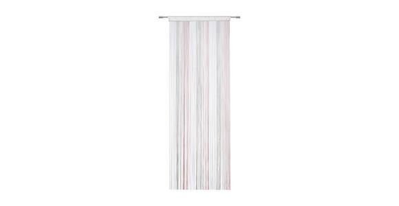 FADENSTORE  transparent  90/245 cm - Beige/Rosa, Basics, Textil (90/245cm) - Boxxx