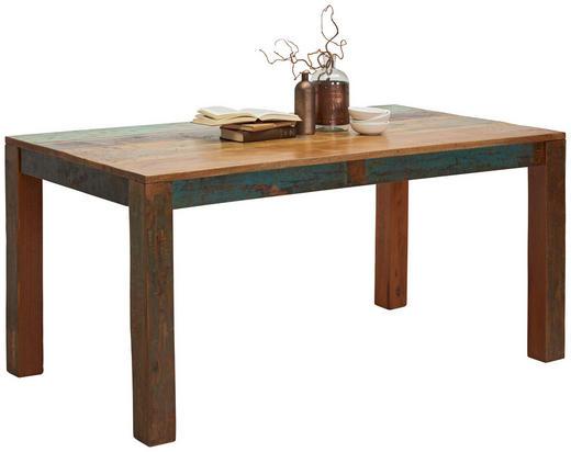 ESSTISCH in massiv Akazie, Recyclingholz Akaziefarben - Akaziefarben, Trend, Holz (160/90/76cm) - Ambia Home