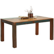 JÍDELNÍ STŮL, masivní, akácie, recyklované dřevo, barvy akácie - barvy akácie, Trend, dřevo (160/90/76cm) - Ambia Home