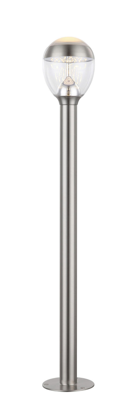 WEGELEUCHTE Dunkelgrau - Dunkelgrau, Design, Kunststoff/Metall (15/99cm)