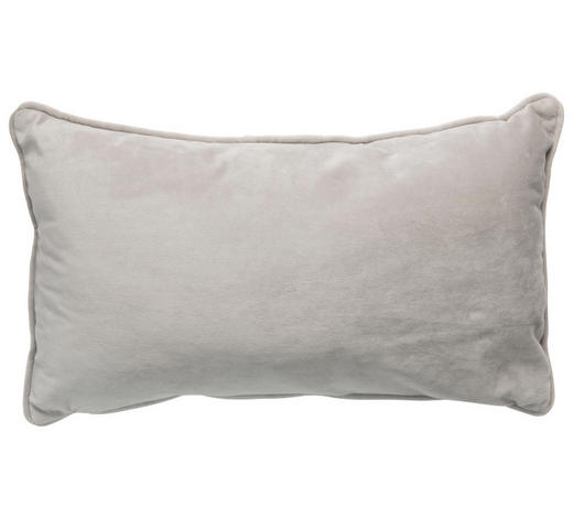 ZIERKISSEN 30/50 cm  - Silberfarben, Basics, Textil (30/50cm) - Novel
