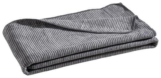 WOHNDECKE 150/200 cm Grau, Silberfarben - Silberfarben/Grau, Basics, Textil (150/200cm) - Novel