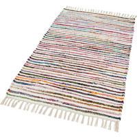FLECKERLTEPPICH 80/150 cm - Multicolor/Weiß, KONVENTIONELL, Textil (80/150cm) - Boxxx