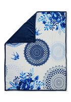 DECKE 130/160 cm Blau - Blau, Textil (130/160cm)