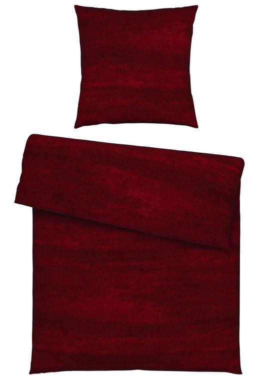 BETTWÄSCHE Jersey Bordeaux 155/220 cm - Bordeaux, Design, Textil (155/220cm) - Novel
