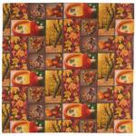 TISCHDECKE 85/85 cm   - Rot/Braun, Trend, Textil (85/85cm) - Esposa