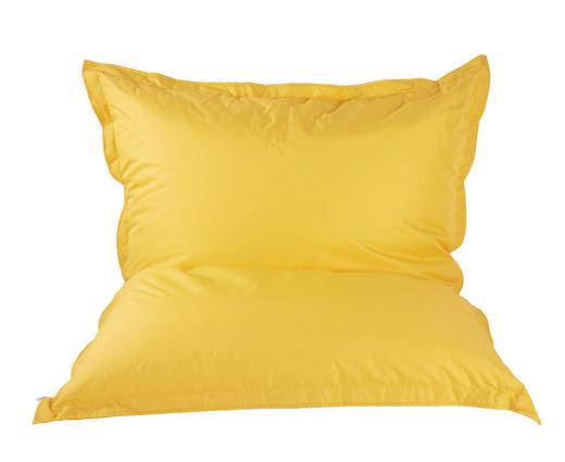 Sitzsack in Gelb Textil - Gelb, Design, Textil (180/140cm) - Boxxx