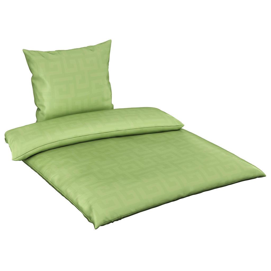 Bio:Vio Bettwäsche satin grün