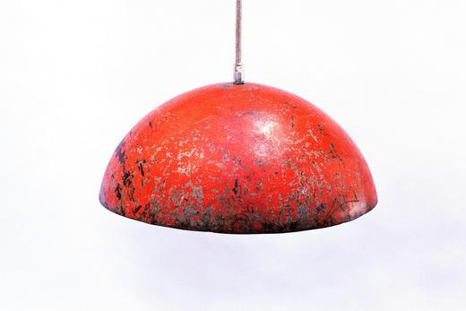 HÄNGELEUCHTE - Orange, Trend, Metall (44/22cm)