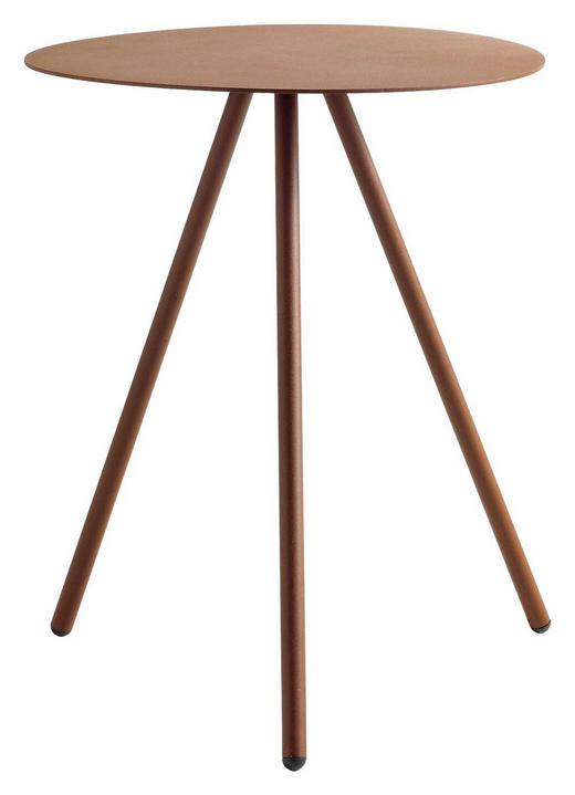 BEISTELLTISCH in Bronzefarben - Bronzefarben, Design, Metall (43,5/50/41cm) - Hülsta